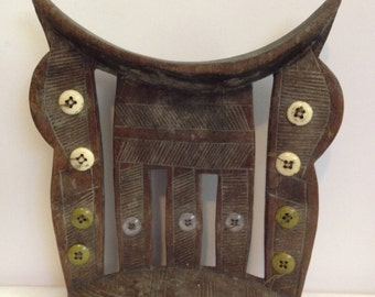 Antique African Headrest - 2