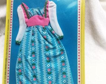 Vintage Barbie Sweet 16 #9555 of Asst.9562, excellent condition, still on card, 1975, Mattel