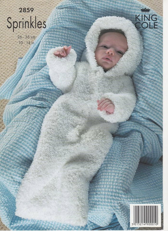Knitting Pattern Sleeping Bag : Baby GrowBag Baby Sleeping Bag Baby Knitting Pattern