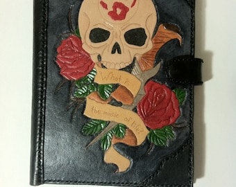 Dark Brotherhood Leather Kindle Case