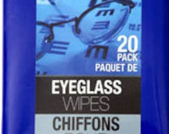 EYEGLASS WIPES computers mobile phones cd dvd sunglasses and more