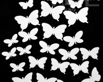 Mini Butterfly cutouts, Tando Creative, greyboard, Papercrafts, Altered Art, Scrapbooking, Cardmaking