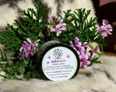 Rose Geranium Lotion, Handmade & All Natural, Super Nourishing and yet Light enough to use on your face :) Great Gift!