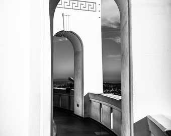 Archway at the Griffith Observatory