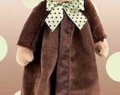 Personalized Baby Security Blanket Giggles Monkey Snuggler Lovie Baby Boy Gift Baby Girl Gift Plush Stuffed Animal with Blanket