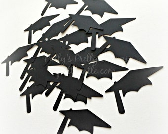 Graduation Cap Die Cuts, Graduation Cap Confetti, Mortar Board Die Cuts, Mortar Board Confetti, Graduation Die Cuts, Graduation Confetti