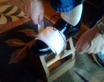 shoe shine box/woodworker kit