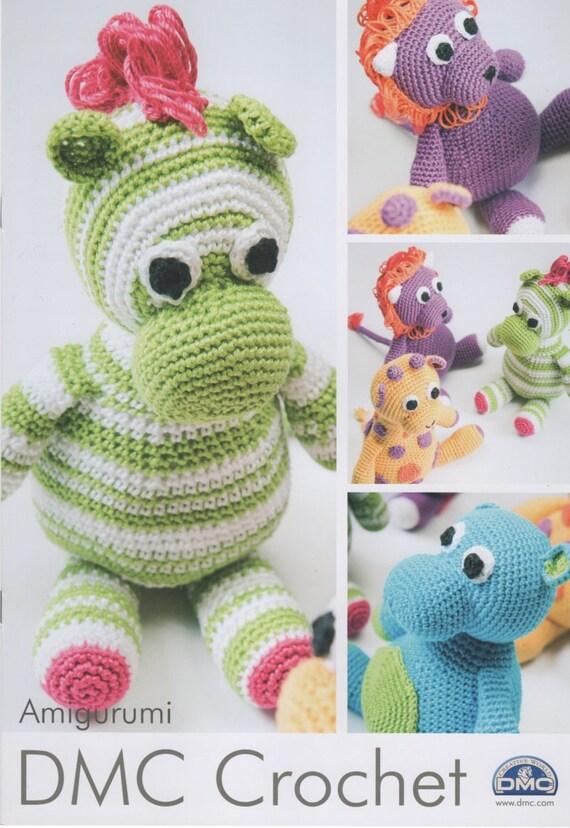 Amigurumi Jungle Animals : DMC 14969L/2 Amigurumi Safari Animals Crochet Booklet