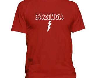 Bazinga t-shirt, Sheldon T-shirt, tv quote t shirt, Big Bang shirt 138-65