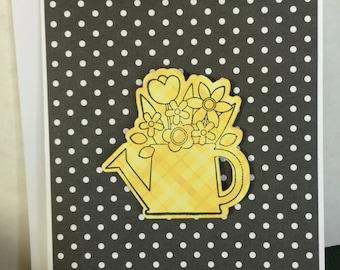 Thank You Card Handmade Greeting Card