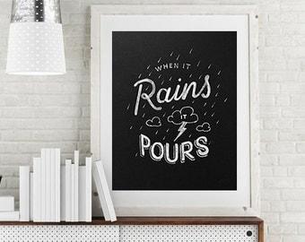 When It Rains It Pours Poster