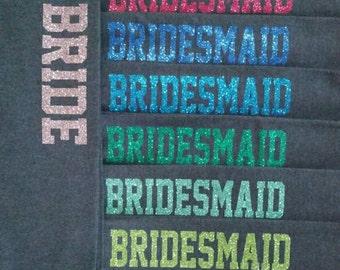 Bridesmaid Sweatpants in Regular or Glitter