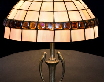 Stained Glass Lamp, Bedroom Lamps, Bedroom Lights, Bedroom Lighting, Reading Lamp, Library Lights, Desk Lamp, Bedside Lamps, Table Lamp