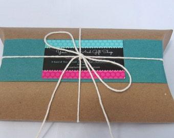 Pillow Boxes, 50 Kraft Pillow Boxes, Large Pillow Boxes, Gift Boxes, Kraft Boxes, Kraft Paper Boxes, Christmas Gift Boxes, Paper Pillow Box
