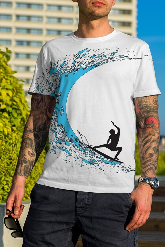 Surf t shirts hawaiian surf shirts aloha shirts graphic for Hawaiian graphic t shirts