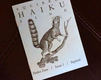 Squirrel Haiku Zine
