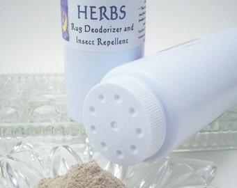 Natural Carpet Deodorizer - Pet Safe Rug Freshener and Flea Repellent