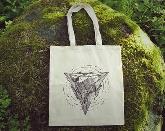 Tetrahedron Fair-Trade Organic Tote Bag