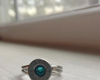 9mm Bullet Ring (Adjustable)