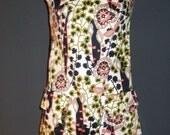 CLEARANCE 70s Vintage cut out mini-dress