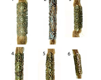 pick style: Filigree dread bead dreadlock tube