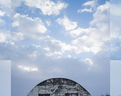 Eyvindartunga barn, original fine art photography, photocollage
