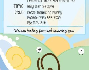 Bo' Peep Invitation Download