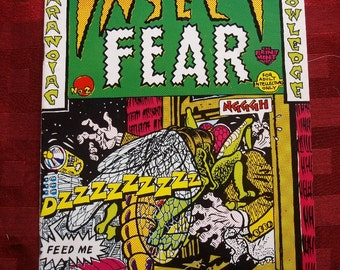 Insect Fear #2 Comix 1970 Spain Kim Deitch S. Clay Wilson Justin Green Head Psych Trippy Underground Alternative Comic Adult Mature