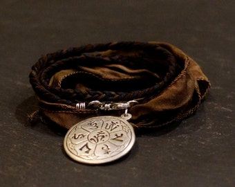 Temple Warrior/warrior wrap/bracelet/necklace