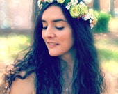 Custom Designed Floral Crown according to your preferences