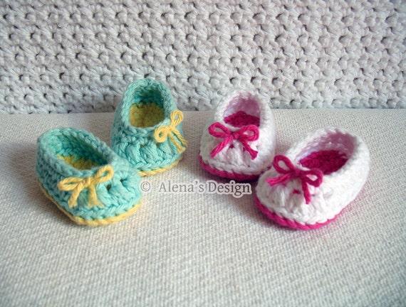 Crochet Pattern 136 Crochet Shoes Pattern for 18 inch Doll