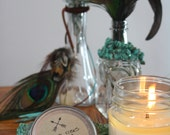 GOOD VIBES Soy Candle. Hipster Mason Jar Candles. Eco-friendly.