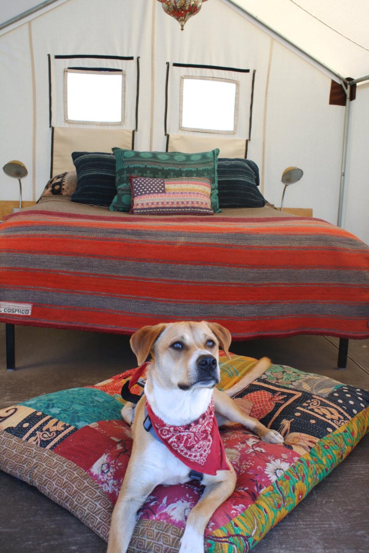 Dog Bed Large Boho Decor Meditation Pillow Bohemian Decor
