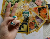 Wicked Meowth/Faded Snorlax Sticker Set (2)