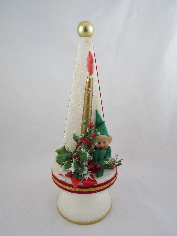 Vintage Styrofoam Christmas Tree Styrofoam Christmas