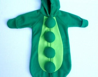 Sweet Baby Snow Pea Halloween Costume