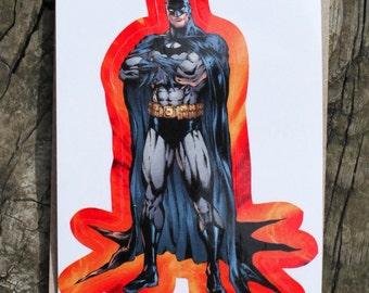 DC Comics Justice League Of America BATMAN Sticker, Comic Book, Superheroes, Collectible, Scrapbooking, Stickers