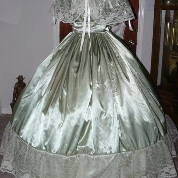 Civil War Ball Gowns For Reenactments 37