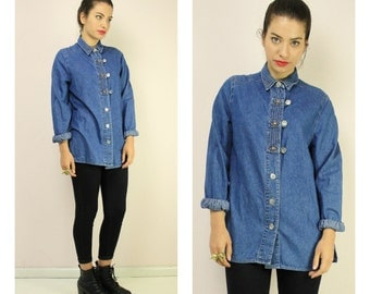 Vintage 90s Denim Shirt