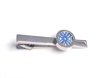 "1st Anniversary Gift for Husband / One Year Anniversary for Man / Paper Anniversary for Him / ""London"" Paper Tie Clip"