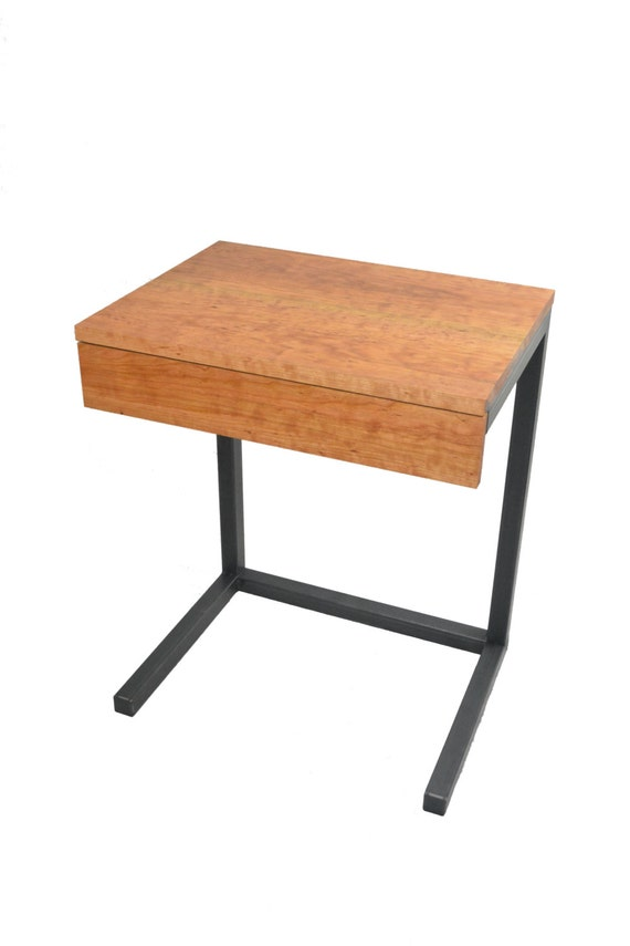 small desk makeup vanity c table by blackironmetalworks on etsy