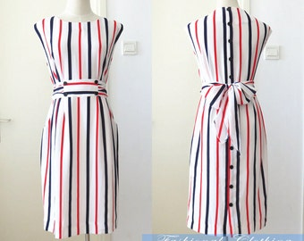 chiffon stripe slim dress summer dress women clothing women dress sleeveless dress office dress