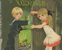 A Child's Garden of Verses- Illustrations by Janet and Anne Grahame Johnstone- 1971 DEAN vintage book