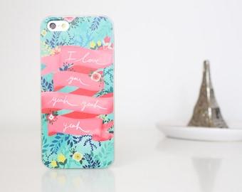 Beatles iPhone 5s/SE phone case love you yeah yeah yeah