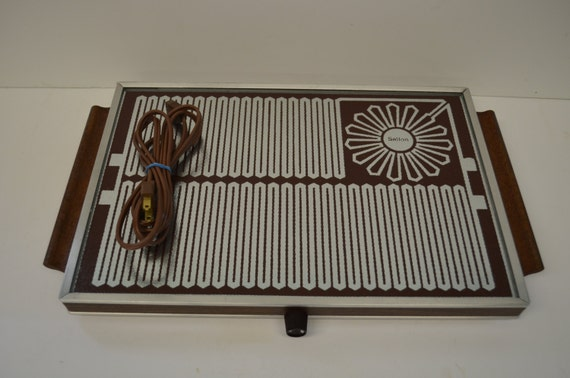 vintage salton hotray retro electric food warmer by. Black Bedroom Furniture Sets. Home Design Ideas