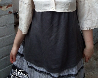 Vintage Upcycled Mori Girl Bolero