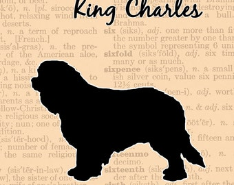 Cavalier King Charles Spaniel Silhouette