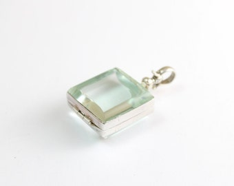Sterling Silver Pendant Locket for Photo