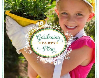 PARTY PLAN: Gardening Party Plan - Garden Party Plan - Gardening Party - Garden Party - Party Planning Guide - Party eBook
