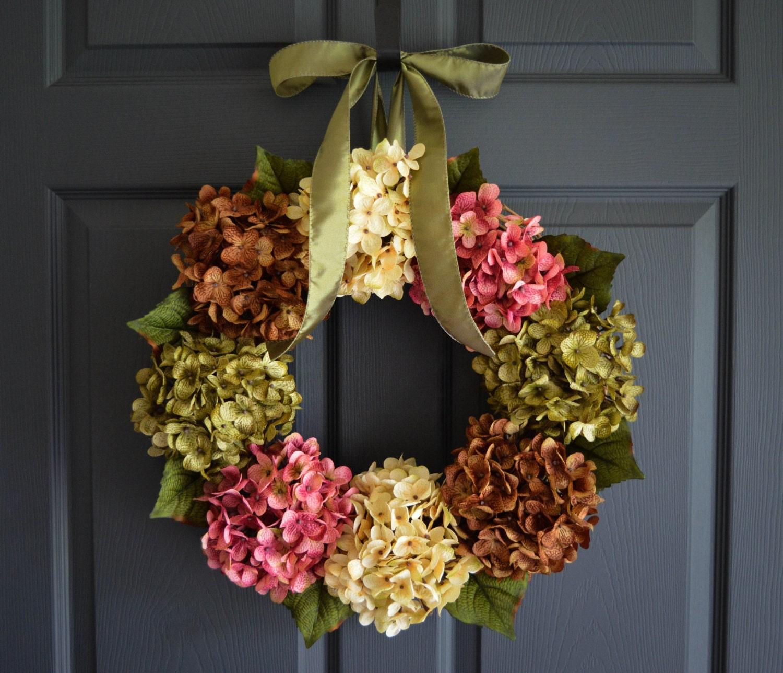 Wreath Front Door Wreaths Outdoor Wreaths Summer